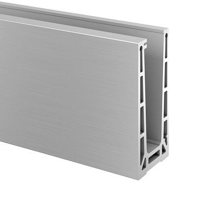 688e68ef947 QRAIL EGS Pro profiil põrandale kinnitus pikkus 2,5m toon alumiinium    16690600018   VBH24